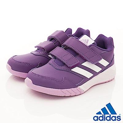 adidas童鞋 Altarun CF運動款 BNI327紫(中小童段)