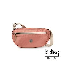 Kipling 城市探索玫瑰粉半月側背腰包-SENRA-EDGELAND系列