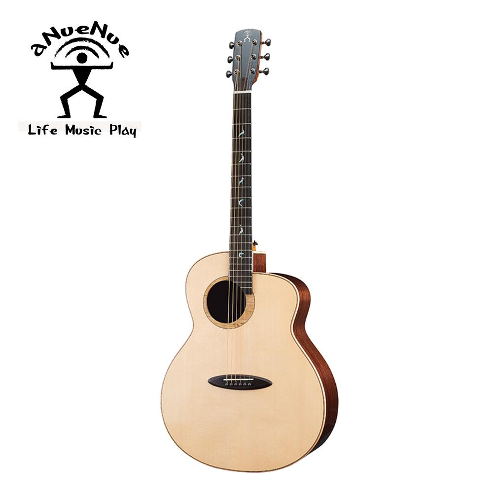 aNueNue LB200 飛鳥全單吉他 月亮雲杉印度玫瑰木款