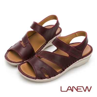 LA NEW 飛彈輕量手縫涼鞋(女227060254)