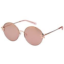 VEDI VERO 水銀面 太陽眼鏡 (玫瑰金色)VE863S