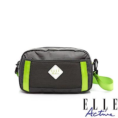 ELLE Active Spolight幕光系列-腰包/側背包/斜背包-小-螢光綠