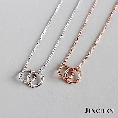 JINCHEN 純銀圈圈項鍊