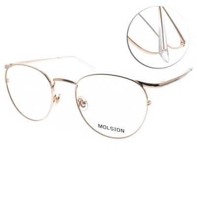 MOLSION 光學眼鏡 Angelababy代言 玫瑰金 #MJ7081 B30