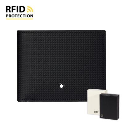 MONTBLANC 萬寶龍Extreme風尚2.0  4卡RFID零錢包短夾 –  123948