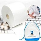 EZlife拋棄式乾濕兩用棉柔巾(80張)
