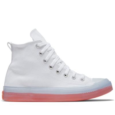CONVERSE CTAS CX HI 高筒 透明 果凍底 舒適 休閒鞋 男女 白 167807C