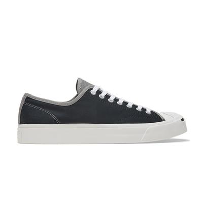CONVERSE JP OX  低筒 休閒鞋 帆布 三色拼接 男女 黑灰色-167920C