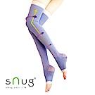 SNUG 越睡越美麗 睡眠美腿襪(紫色)