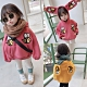 小衣衫童裝 兒童可愛小蜜蜂連帽內刷毛上衣1081202
