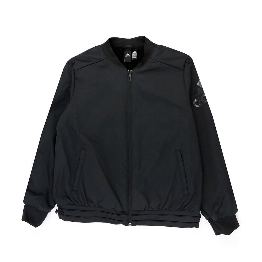 ADIDAS FEM JKT WV BOMB 女 黑 舖棉外套