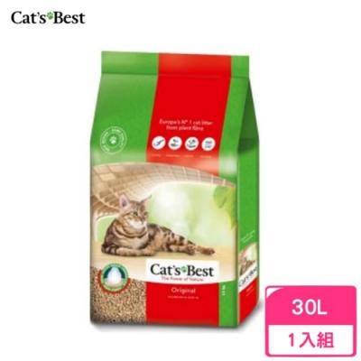 德國凱優Cat′s Best-經典凝結木屑砂(紅標凝結型) 30L/13kg