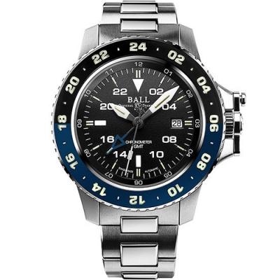 BALL 波爾錶 Engineer GMT II機械錶(DG2018C-S10C-BK)-黑/42mm