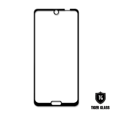 T.G SHARP AQUOS R3 全包覆滿版鋼化膜手機保護貼(防爆防指紋)