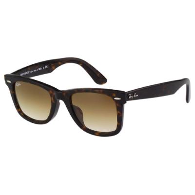 RAY BAN 太陽眼鏡(琥珀色)RB2140F#52