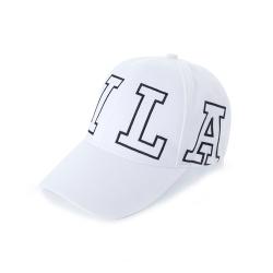 FILA 時尚LOGO帽-白 HTU-5100-WT
