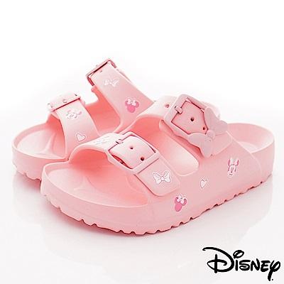 迪士尼童鞋 米妮超輕拖鞋款 ON19376粉(中小童段)