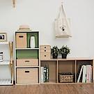 完美主義 三層空櫃/書櫃-2入組(6色)-42.5x30x90cm