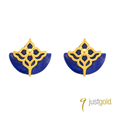 鎮金店Just Gold 北非迷情系列-純金耳環