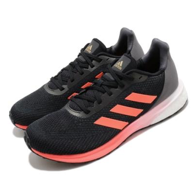 adidas 慢跑鞋 Astrarun 運動休閒 男鞋 愛迪達 三線 透氣 球鞋穿搭 Boost 黑 橘 EH1530