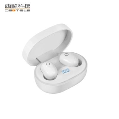 西歐科技 托雷多 無線雙耳立體聲藍牙耳機 CME-BTK900(珍珠白)