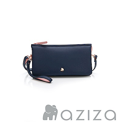 AZIZA  BERYL 斜背手拎包(中)-藍