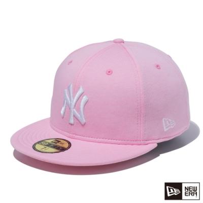 NEW ERA 59FIFTY 5950 柔和色調 洋基 粉紅 棒球帽