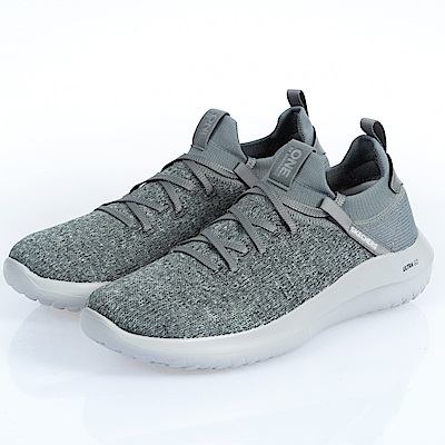 SKECHERS(男)健走系列DOWNTOWN ULTRA-18548GRY