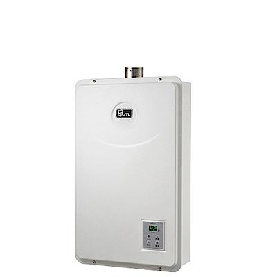 (全省安裝)喜特麗強制排氣數位恆溫FE式16公升熱水器天然氣(彰化以北)JT-H1632_NG1