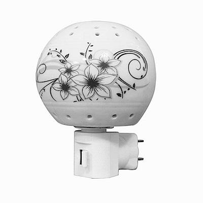 KINYO陶瓷小夜燈NL-221兩入裝