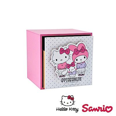 Hello Kitty 凱蒂貓 美樂蒂 喜拿 單抽盒 桌上收納 文具收納 飾品收納