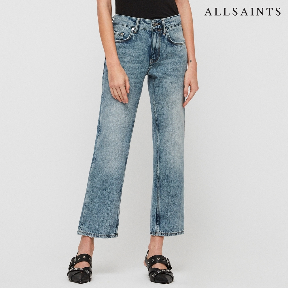 ALLSAINTS ALANA 低腰男友風寬鬆牛仔褲