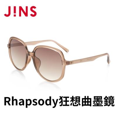 JINS Rhapsody 狂想曲ARTISTIC CHIC墨鏡(ALRF21S054)透明淺棕