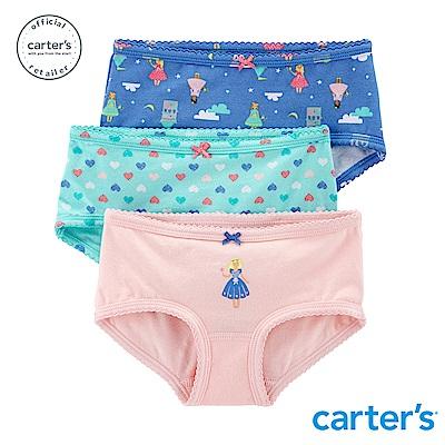 Carter s台灣總代理 童話城堡3件組三角褲