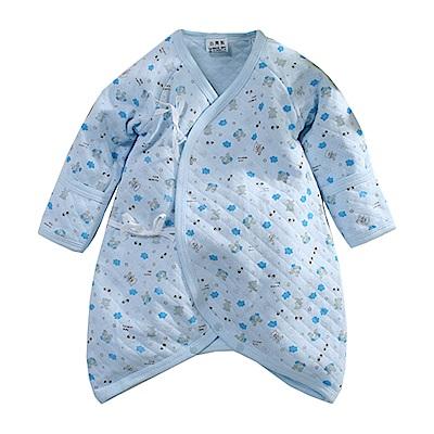 三層棉印花厚款護手蝴蝶衣 k60691 魔法Baby