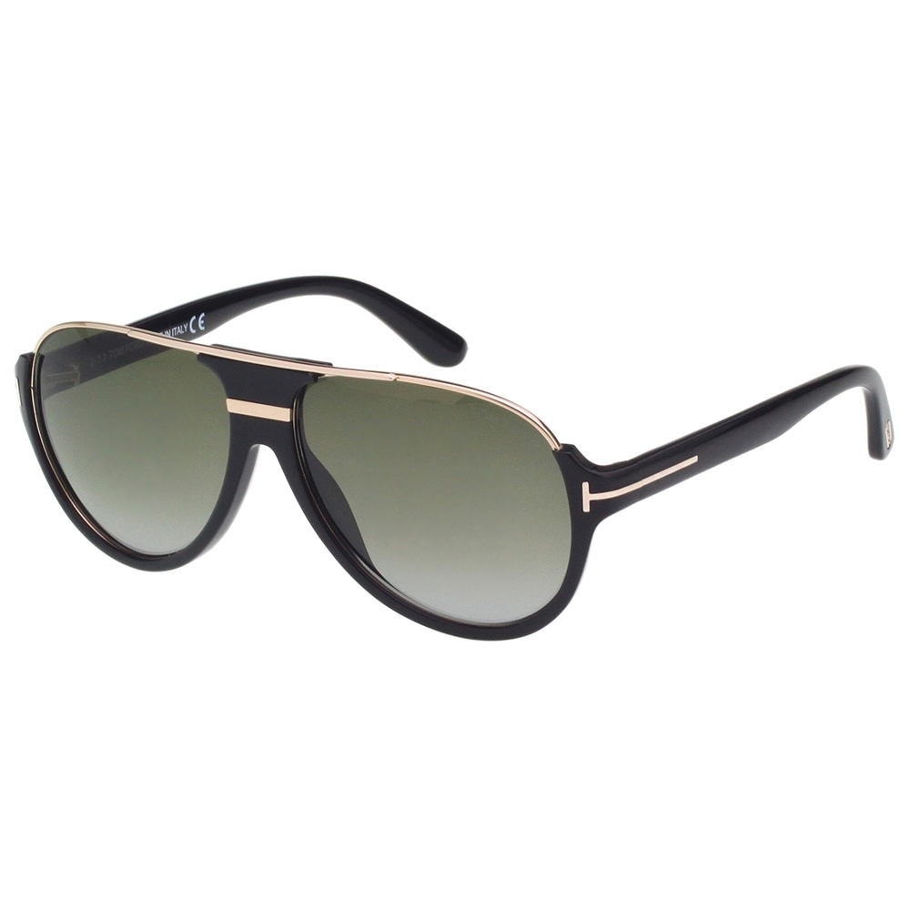 TOM FORD 飛官款造型 太陽眼鏡(黑色)TF334