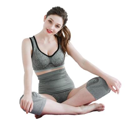 【京美】 YAHOO開館慶-長效支撐X型舒緩護膝+涼感內褲*2+護腰(加贈護腰神器五件組)