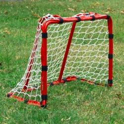 DLD多輪多 專業兒童足球、曲棍球、直排輪曲棍球門 小球門 可快拆 紅