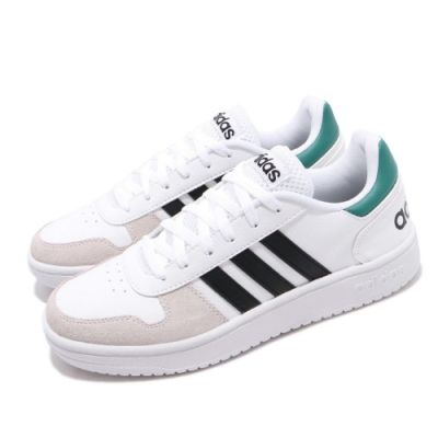 adidas 休閒鞋 Hoops 2.0 復古 男鞋