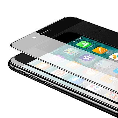 iPhone 6/6S  絲印 滿版 高清防窺 9H 鋼化玻璃膜