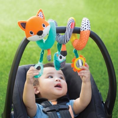 美國 Infantino 狐狸繞圈圈掛飾玩具