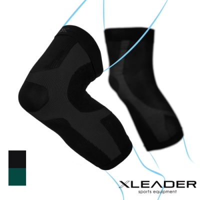 LEADER XW-03進化版X型運動壓縮護膝腿套 2只入