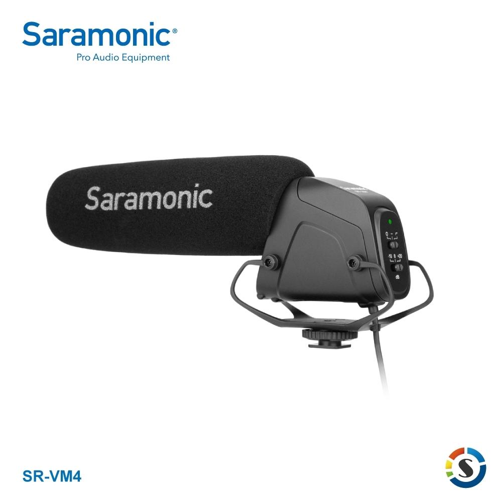 Saramonic楓笛 SR-VM4 指向型電容式麥克風