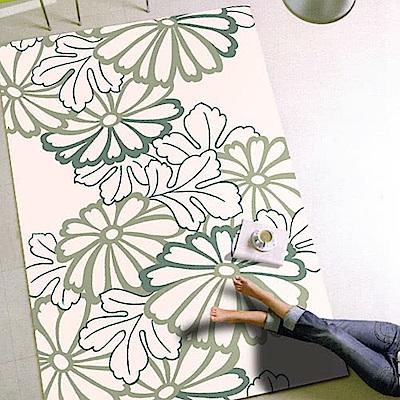 范登伯格 - 荷莉 進口地毯 - 花描 (粉) (特大款 - 200 x 290cm)