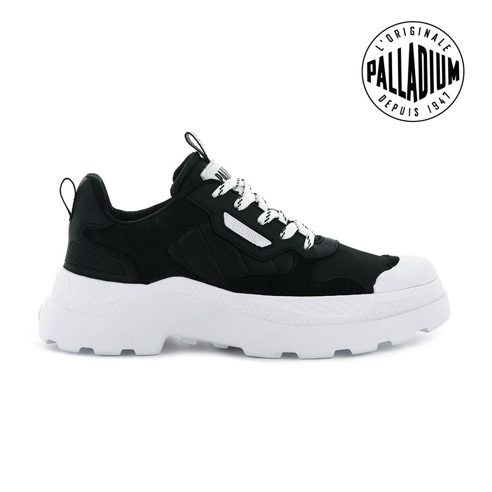 PALLADIUM PALLAKIX 90 LOW軍種休閒鞋-男-黑/白
