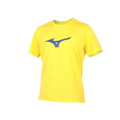 MIZUNO 男 短袖T恤 黃丈青藍