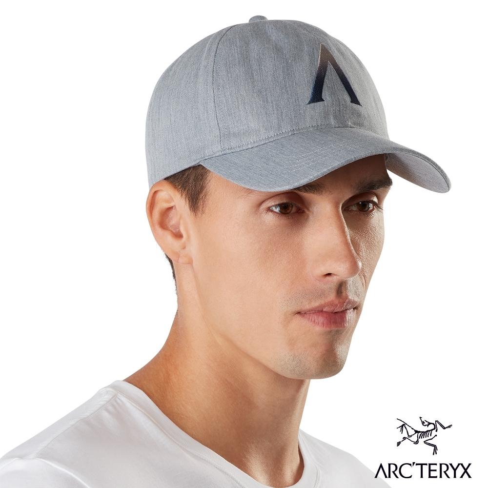 Arcteryx 始祖鳥 Converge 六分割 混棉 棒球帽 雜灰/迷惑藍