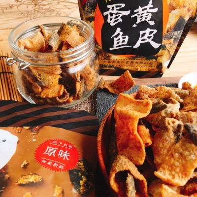 LONEN  蛋黃風味魚皮-原味(60g)