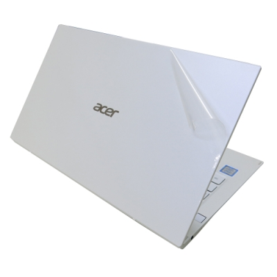 EZstick ACER Swift 7 SF714-52T 白色機款 透氣機身保護膜