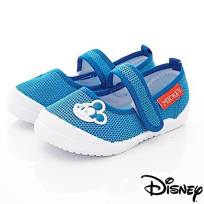迪士尼童鞋 米奇超輕透氣款 ON19344藍(中小童段)